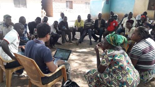 Evaluation d'un projet de gestion des ressources en eau au Ghana par Yohann